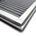 Filtre charbon actif ISO ePM2,5 60%