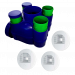 HYGRO ECOWATT Kit VMC simple flux hygroréglable Econoname 3 bouches
