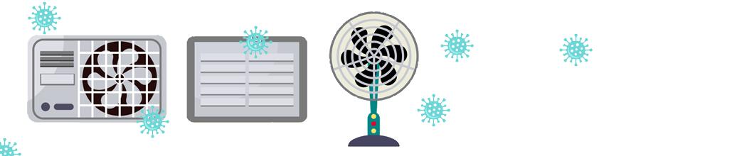 Influence des systèmes de ventilation sur la COVID-19