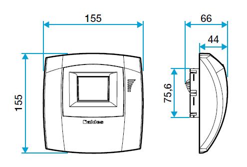 bouche hygro aldes 11033661 dimensions