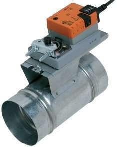 Platine de montage motorisation registre RGE à joints Aldes