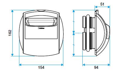 bapsi aldes dimensions