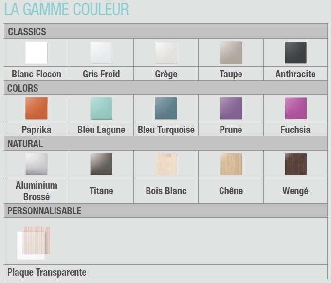 Bouche de ventilation ALDES  ColorLINE