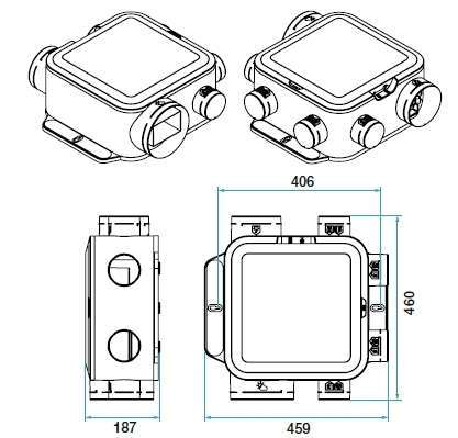 VMC simple flux Hygro EasyHOME Compact Premium HP