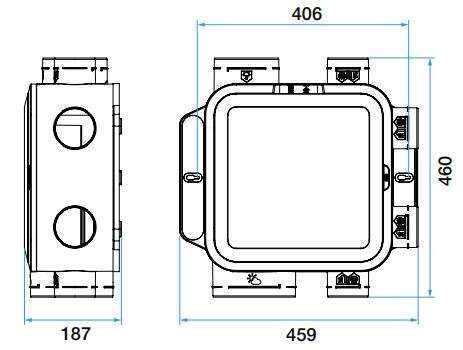 VMC simple flux EasyHOME Compact Classic Aldes
