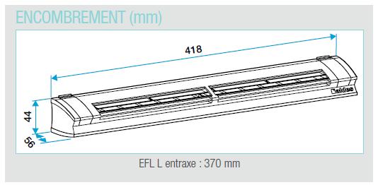 efl dimensions