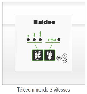 télécommande modulo aldes