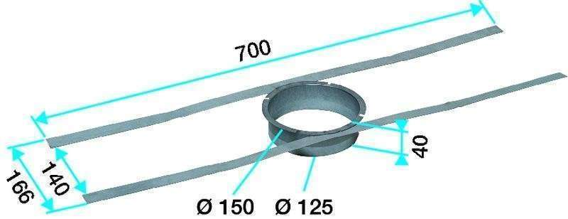 sortie toiture aldes dimensions