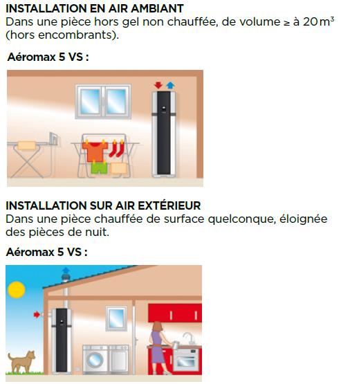 aeromax 5 vs thermor mise en oeuvre