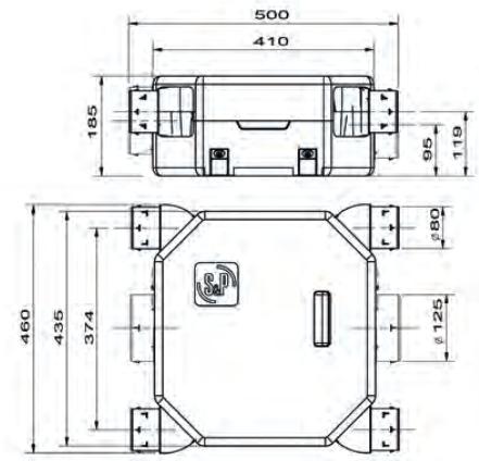 deco flat dhu unelvent dimensions