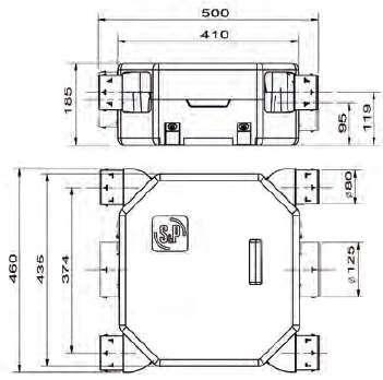 vmc deco flat 2 dimensions