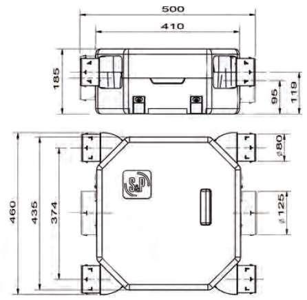 deco flat serenite dimensions 604143
