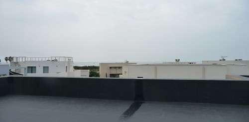Étanchéité d'un toit terrasse, l'expérience de la bâche RubberCover™ EPDM de Firestone